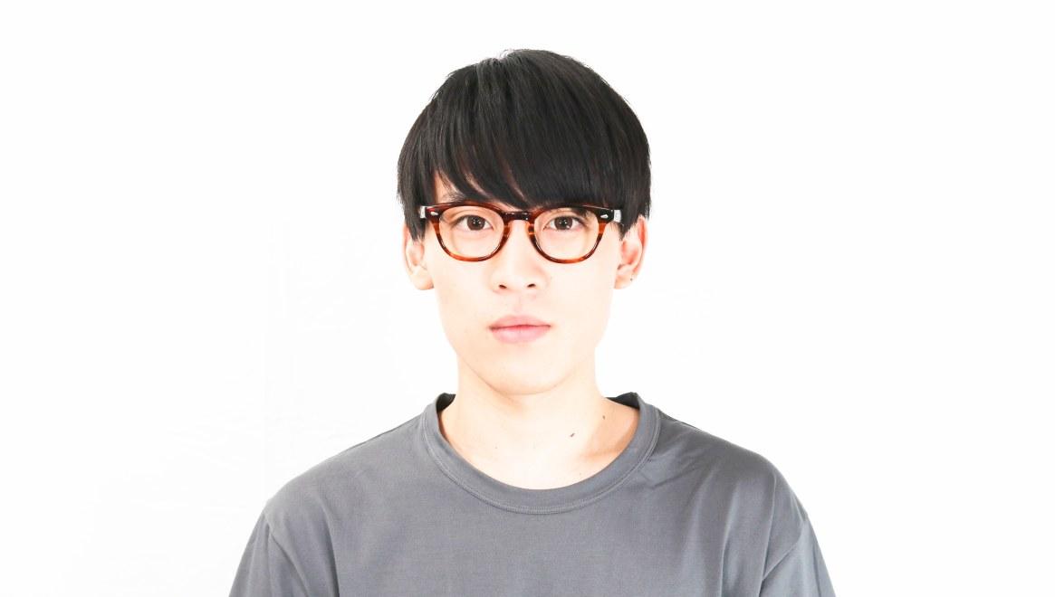 Oh My Glasses TOKYO Lucas omg-070-BR-48 [鯖江産/ウェリントン/茶色]  5