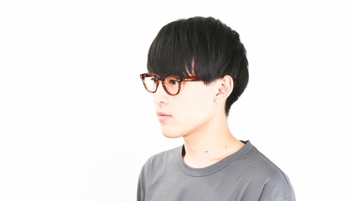 Oh My Glasses TOKYO Lucas omg-070-BR-48 [鯖江産/ウェリントン/茶色]  6