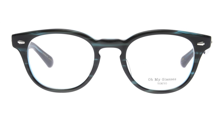 Oh My Glasses TOKYO Lucas omg-070-GRN-48 [鯖江産/ウェリントン/緑]