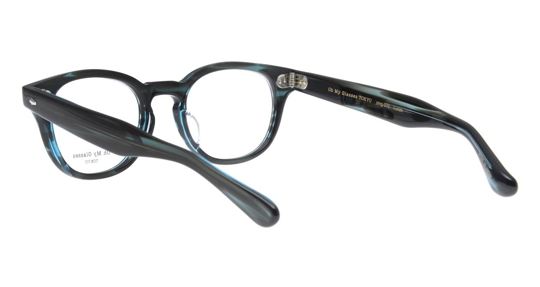 Oh My Glasses TOKYO Lucas omg-070-GRN-48 [鯖江産/ウェリントン/緑]  3