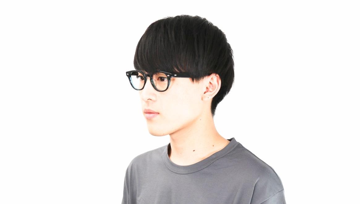 Oh My Glasses TOKYO Lucas omg-070-GRN-48 [鯖江産/ウェリントン/緑]  6