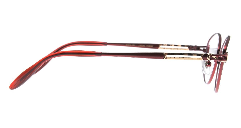 モデルノ MD 7069-C2 WN-51 [メタル/鯖江産/オーバル/赤]  2