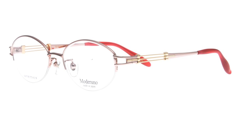 モデルノ MD 7061-C1 PK-51 [メタル/鯖江産/ハーフリム/オーバル/ゴールド]  1