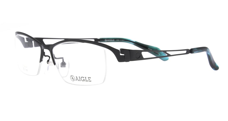 エーグル AG1141-3-56 [メタル/ハーフリム/スクエア]  1