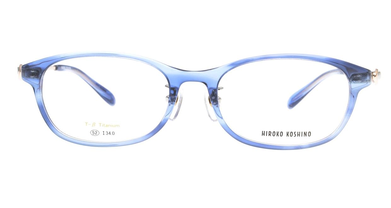 ヒロコ コシノ HK5024-3-52 [鯖江産/スクエア/青]