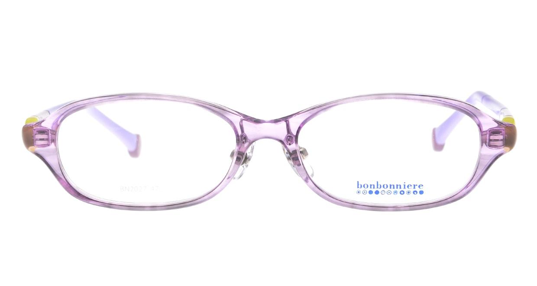 ボンボニエール BN2027-34-47 [鯖江産/オーバル/紫]