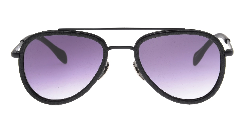 マーシャルアイウェア MICK - Large MA0045-Black Leatherー210170-210 [メタル/ティアドロップ]