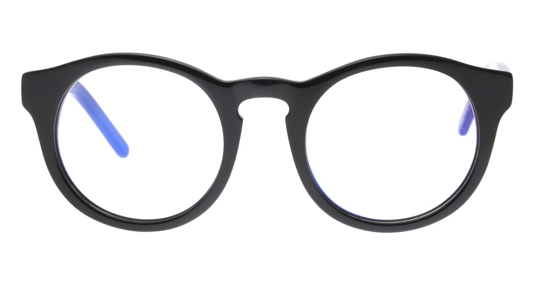 マーシャルアイウェア NICO - Large Opt MA0040-Vinylー200000-101 [黒縁/丸メガネ]