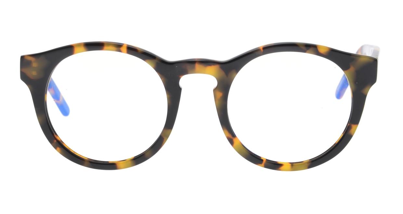 マーシャルアイウェア NICO - Large Opt MA0040-Turtleー600000-101 [丸メガネ/べっ甲柄]