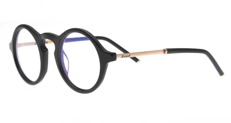マーシャルアイウェア BRYAN Opt MA0008-Black Goldー200300-101 [黒縁/丸メガネ]  1