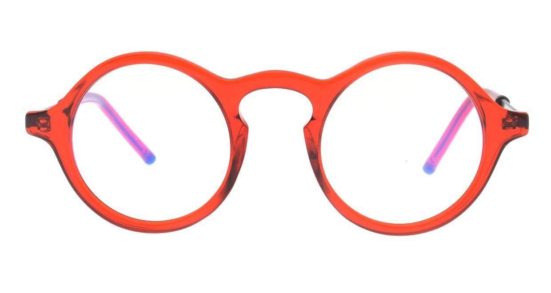 マーシャルアイウェア BRYAN Opt MA0008-Crimsonー117400-101 [丸メガネ/赤]