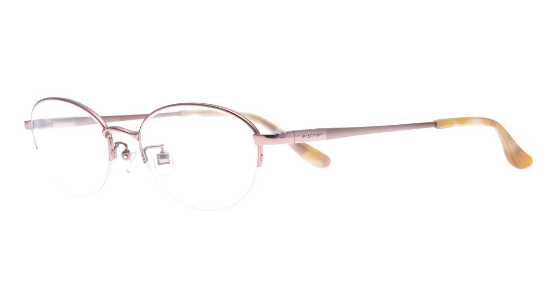 ピンキー&ダイアン PD8022-02-51 [メタル/ハーフリム/オーバル/ピンク]  1