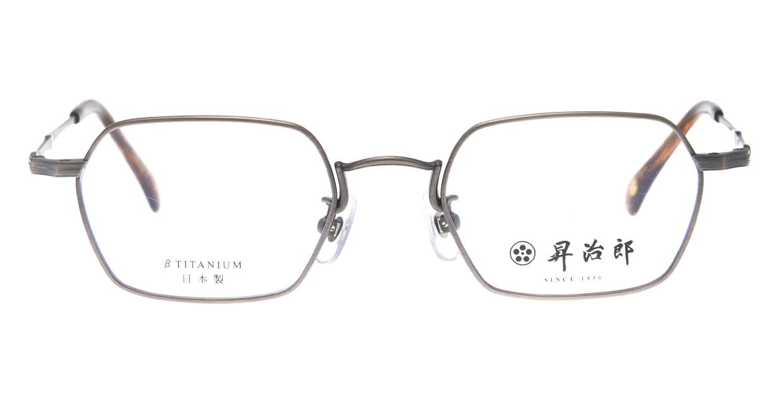 昇治郎 6020-ATS-48 [メタル/鯖江産/スクエア/シルバー]
