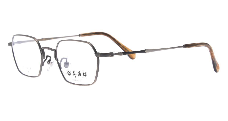 昇治郎 6020-ATS-48 [メタル/鯖江産/スクエア/シルバー]  1