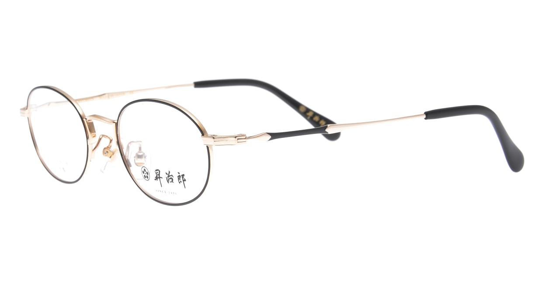 昇治郎 6019-WG/BK-47 [メタル/鯖江産/オーバル]  1