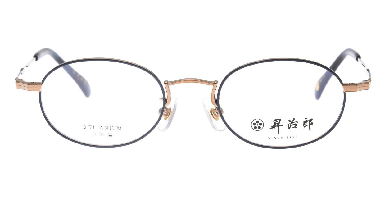 昇治郎 6019-BR/BL-47 [メタル/鯖江産/オーバル]