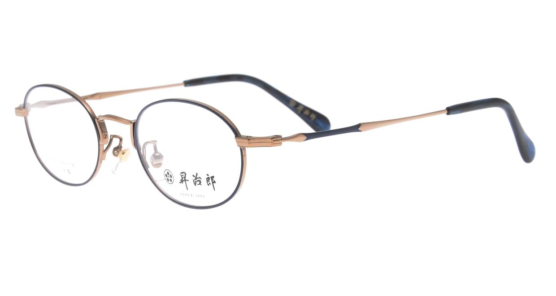 昇治郎 6019-BR/BL-47 [メタル/鯖江産/オーバル]  1
