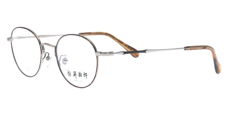 昇治郎 6018-RT/BD-47 [メタル/鯖江産/オーバル/べっ甲柄]  1