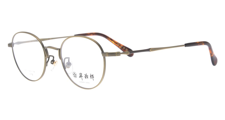 昇治郎 6018-ATG-47 [メタル/鯖江産/オーバル/ゴールド]  1