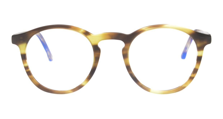 KOMONO MARTIN KOM-O1654-BUMBLEBEE [丸メガネ/べっ甲柄]