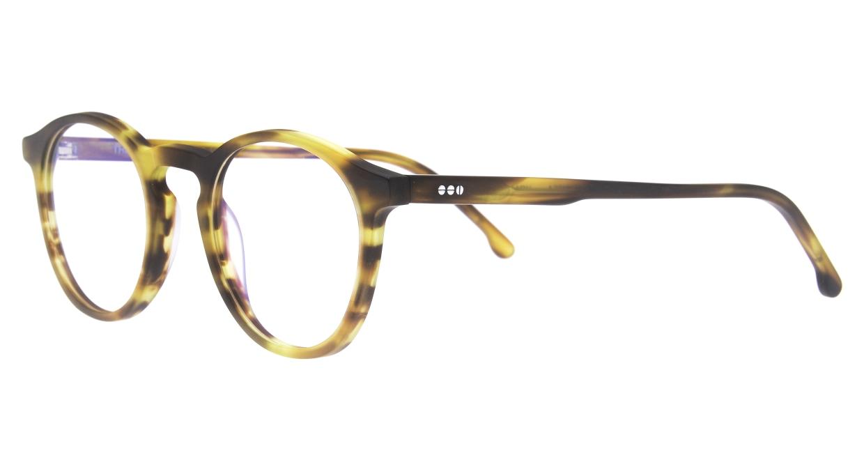 KOMONO MARTIN KOM-O1654-BUMBLEBEE [丸メガネ/べっ甲柄]  1