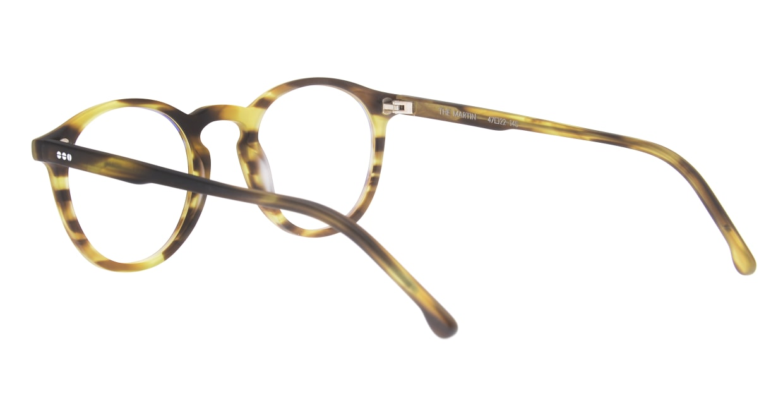 KOMONO MARTIN KOM-O1654-BUMBLEBEE [丸メガネ/べっ甲柄]  3