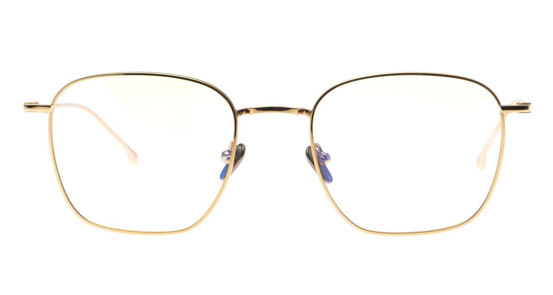 KOMONO OSCAR KOM-O5652-GOLD GLOSSY [メタル/ウェリントン/ゴールド]
