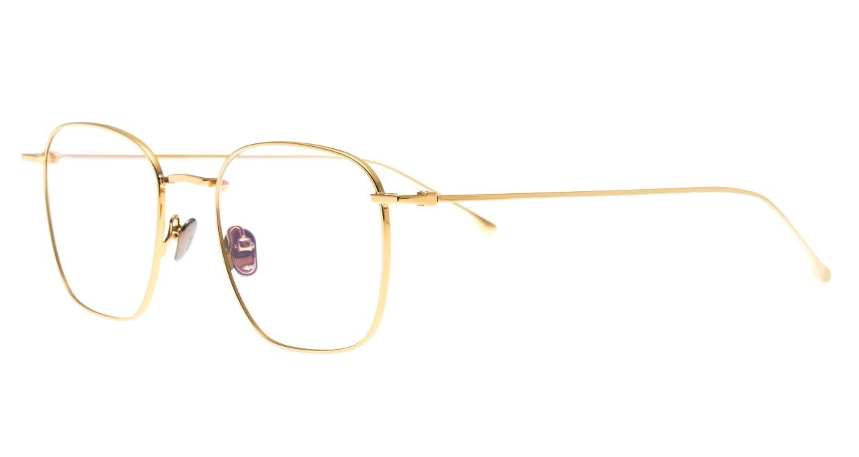 KOMONO OSCAR KOM-O5652-GOLD GLOSSY [メタル/ウェリントン/ゴールド]  1