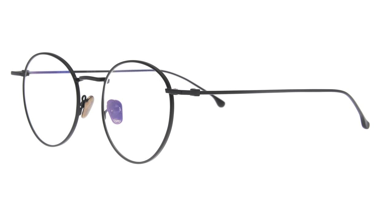 KOMONO DEAN SLIM KOM-O5556-BLACK [メタル/丸メガネ]  1