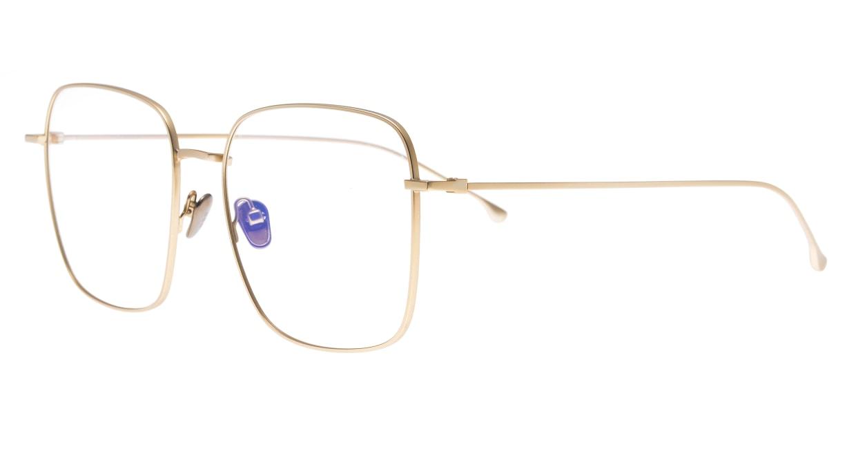 KOMONO PRESLEY KOM-O5702-WHITE GOLD [メタル/ウェリントン/ゴールド]  1