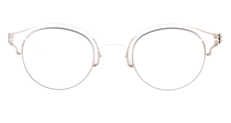 アイシーベルリン Dahlem-Bronze-Ecru -RX-Clear -Mittwoch [丸メガネ/透明]