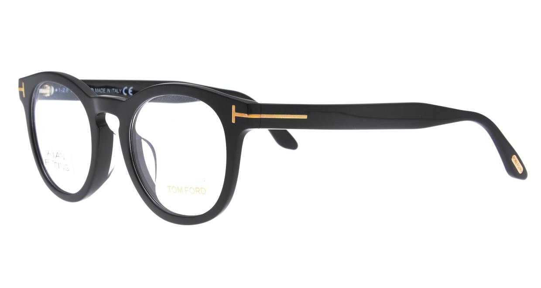 トムフォード FT5489FAsianFit-001-50 [黒縁/丸メガネ]  1