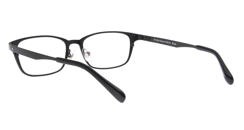 Oh My Glasses TOKYO 令-001-Black-52 [メタル/鯖江産/スクエア]  3