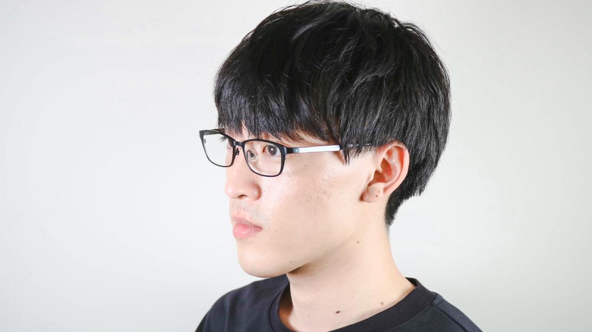 Oh My Glasses TOKYO 令-001-Black-52 [メタル/鯖江産/スクエア]  6