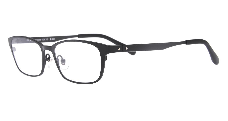 Oh My Glasses TOKYO 令-001-Matte-Black-52 [メタル/鯖江産/スクエア]  1