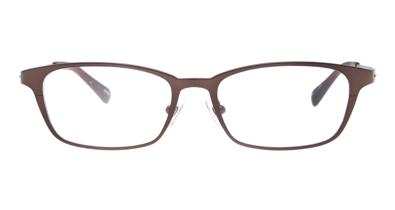Oh My Glasses TOKYO 令-001-Brown-52 [メタル/鯖江産/スクエア/茶色]