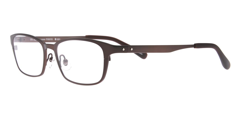 Oh My Glasses TOKYO 令-001-Brown-52 [メタル/鯖江産/スクエア/茶色]  1