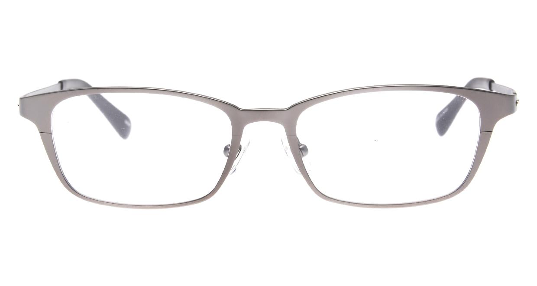 Oh My Glasses TOKYO 令-001-Gray-52 [メタル/鯖江産/スクエア/グレー]
