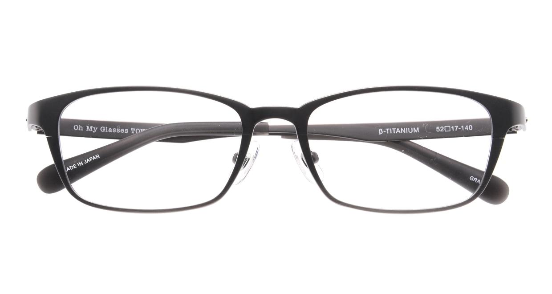 Oh My Glasses TOKYO 令-001-Gray-52 [メタル/鯖江産/スクエア/グレー]  4
