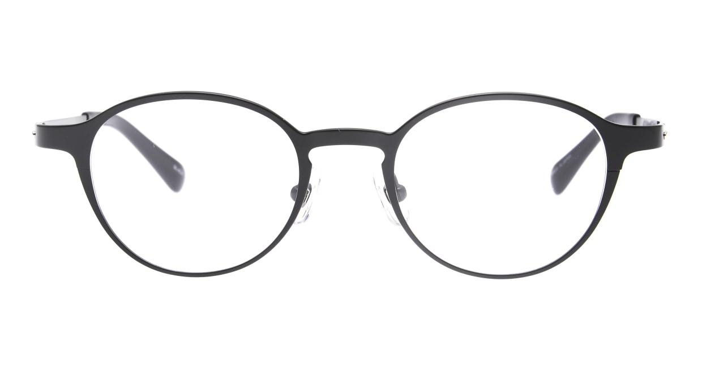 Oh My Glasses TOKYO 令-002-Black-47 [メタル/鯖江産/丸メガネ]