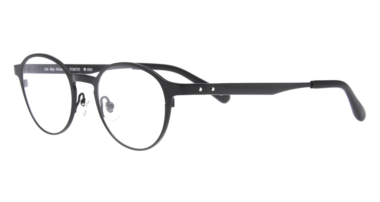 Oh My Glasses TOKYO 令-002-Black-47 [メタル/鯖江産/丸メガネ]  1