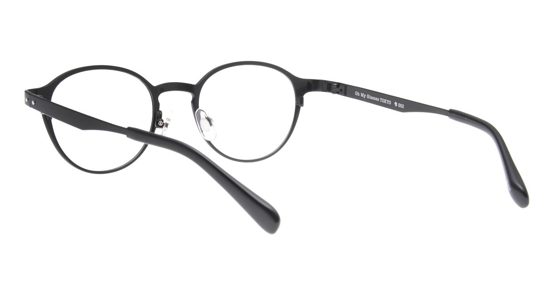 Oh My Glasses TOKYO 令-002-Black-47 [メタル/鯖江産/丸メガネ]  3