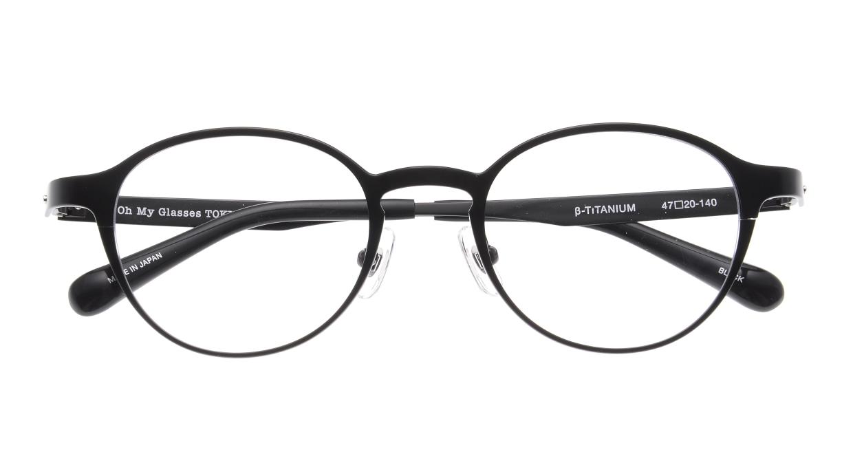 Oh My Glasses TOKYO 令-002-Black-47 [メタル/鯖江産/丸メガネ]  4