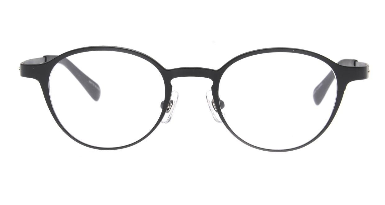 Oh My Glasses TOKYO 令-002-Matte-Black-47 [メタル/鯖江産/丸メガネ]