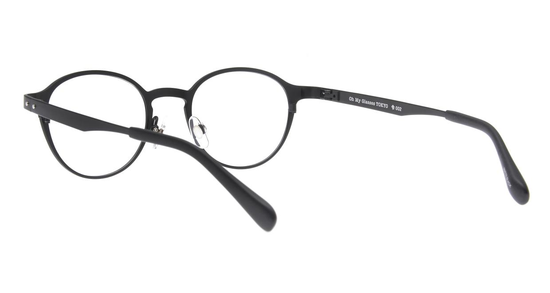 Oh My Glasses TOKYO 令-002-Matte-Black-47 [メタル/鯖江産/丸メガネ]  3