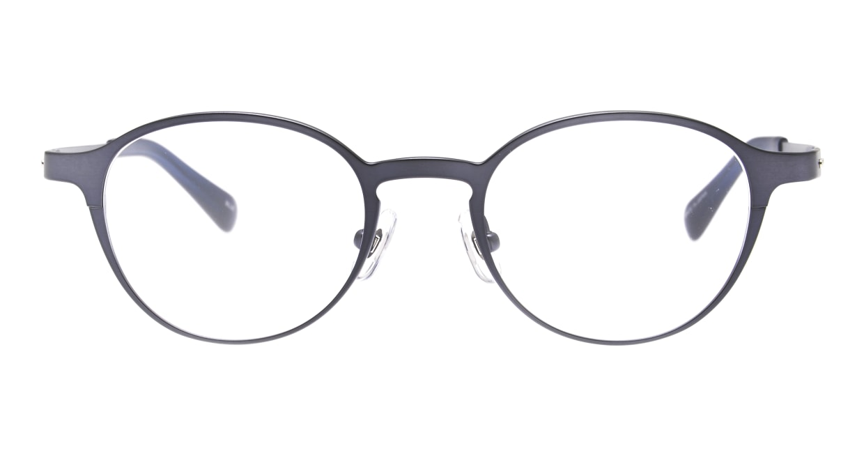 Oh My Glasses TOKYO 令-002-Blue-47 [メタル/鯖江産/丸メガネ/青]
