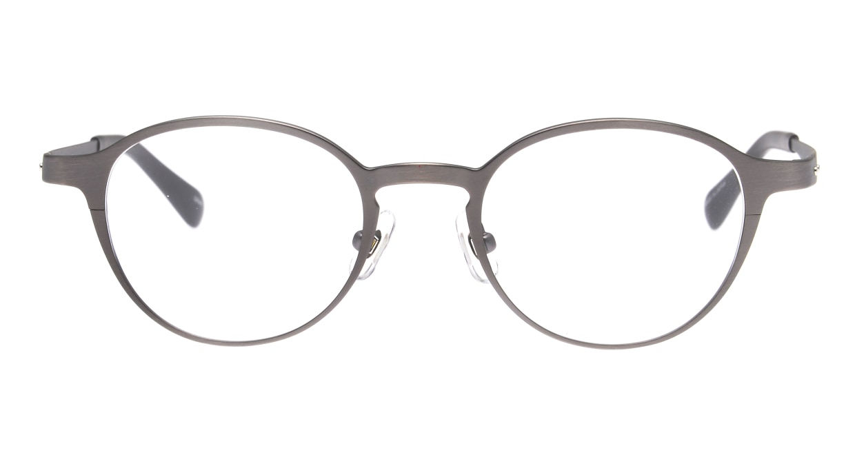 Oh My Glasses TOKYO 令-002-Gray-47 [メタル/鯖江産/丸メガネ/グレー]