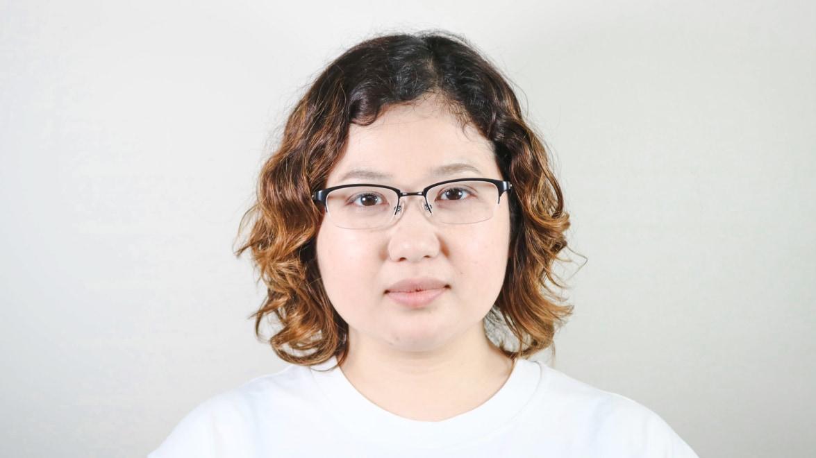 Oh My Glasses TOKYO 令-003-Black-51 [メタル/鯖江産/ハーフリム/スクエア]  7