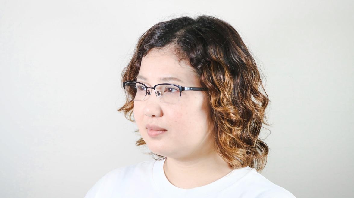 Oh My Glasses TOKYO 令-003-Black-51 [メタル/鯖江産/ハーフリム/スクエア]  8