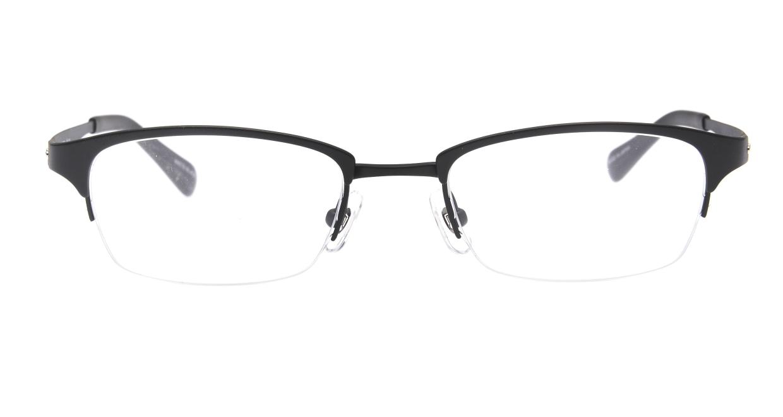Oh My Glasses TOKYO 令-003-Matte-Black-51 [メタル/鯖江産/ハーフリム/スクエア]
